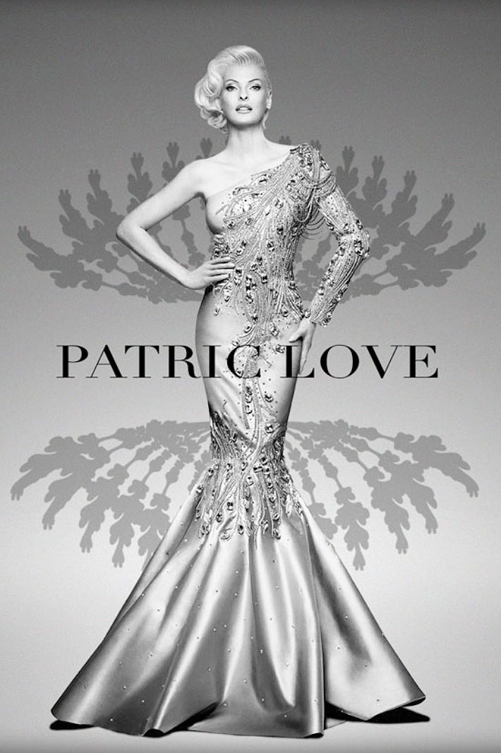 Linda Evangelista Stars in Patric Love's Spring 2014 Campaign