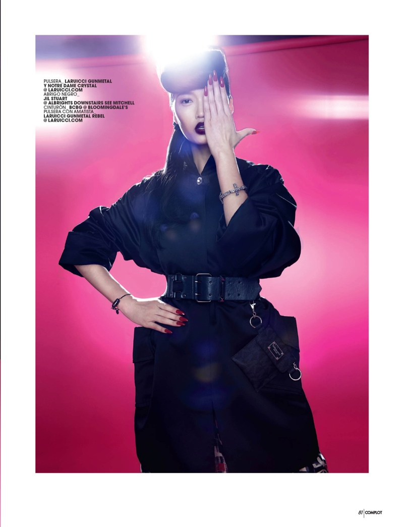 pink punk8 Qi Wen is a Pink Punk for Complot Magazine by Wendy Hope