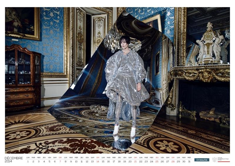 polish calendar patrycja13 Patrycja Gardygajlo Stars in 2014 Polish Embassy in Paris Calendar
