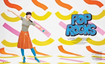 Chloe B. Wears Pop Art Style for Foam Shoot by JUCO