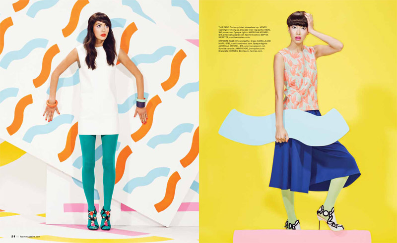 pop rocks2 Chloe B. Wears Pop Art Style for Foam Shoot by JUCO