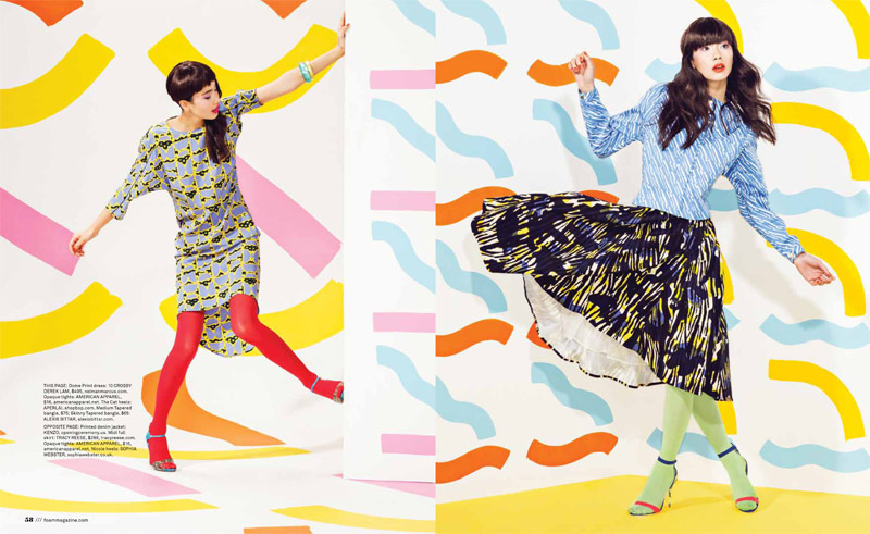 pop rocks4 Chloe B. Wears Pop Art Style for Foam Shoot by JUCO