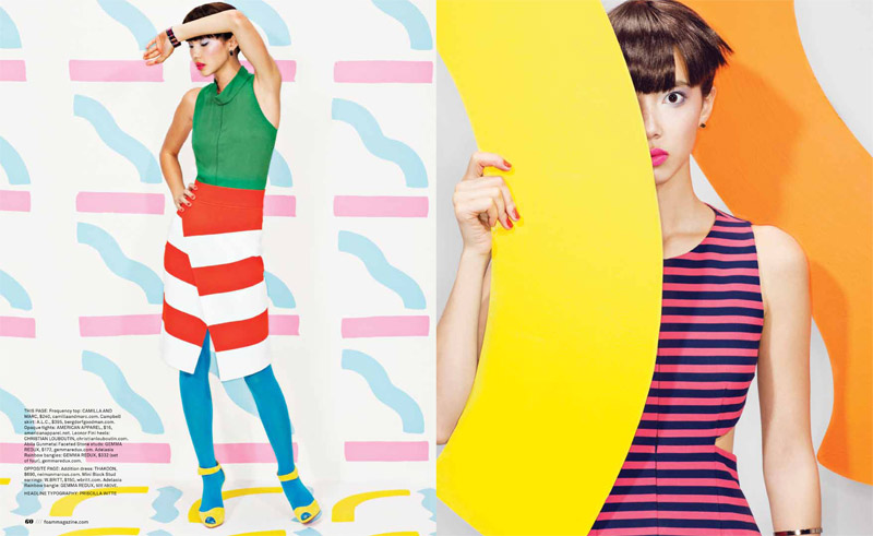 pop rocks5 Chloe B. Wears Pop Art Style for Foam Shoot by JUCO