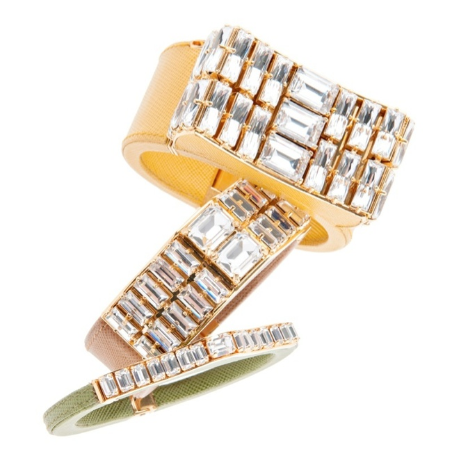 prada jewelry1 Discover Pradas Spring 2014 Jewelry Collection