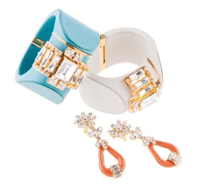 prada jewelry2 Discover Pradas Spring 2014 Jewelry Collection