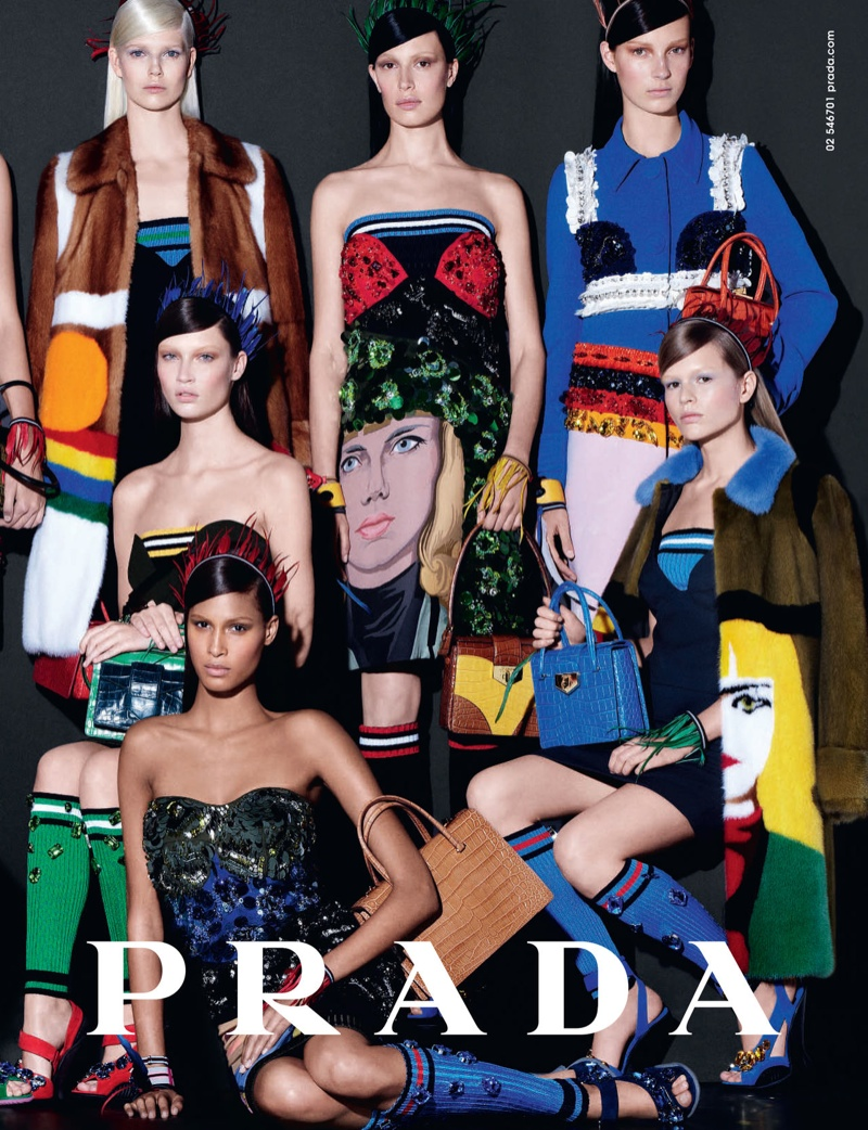 prada spring 2014 advertisement Preview: Prada Spring/Summer 2014 Campaign by Steven Meisel