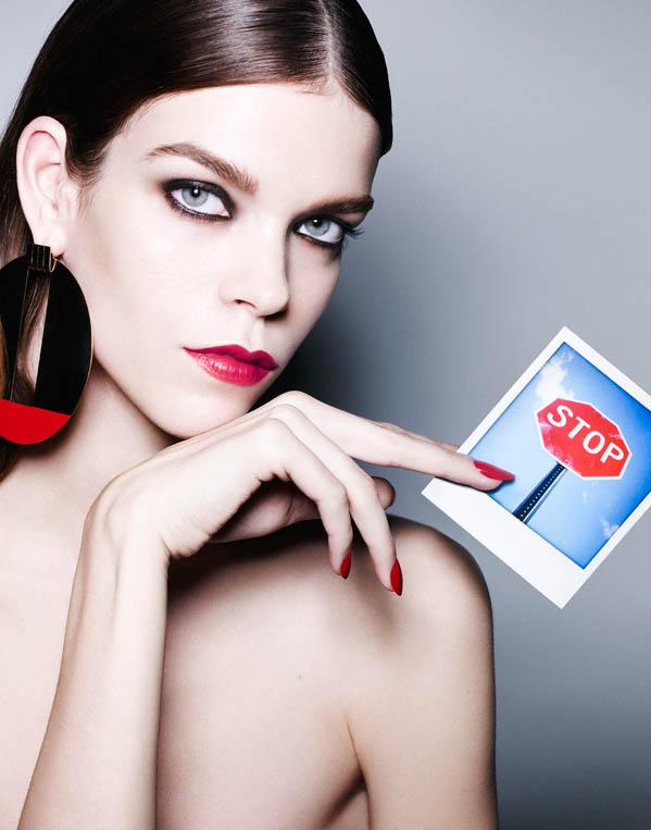 Meghan Collison Models Daring Beauty for Bazaar Spain by Nagi Sakai