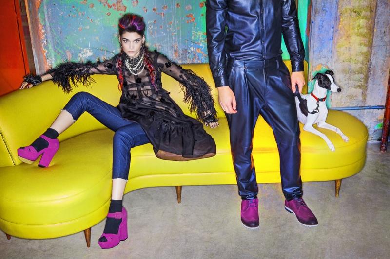 Isabella Mello Rebels for Renam Christofoletti in Vogue Brazil