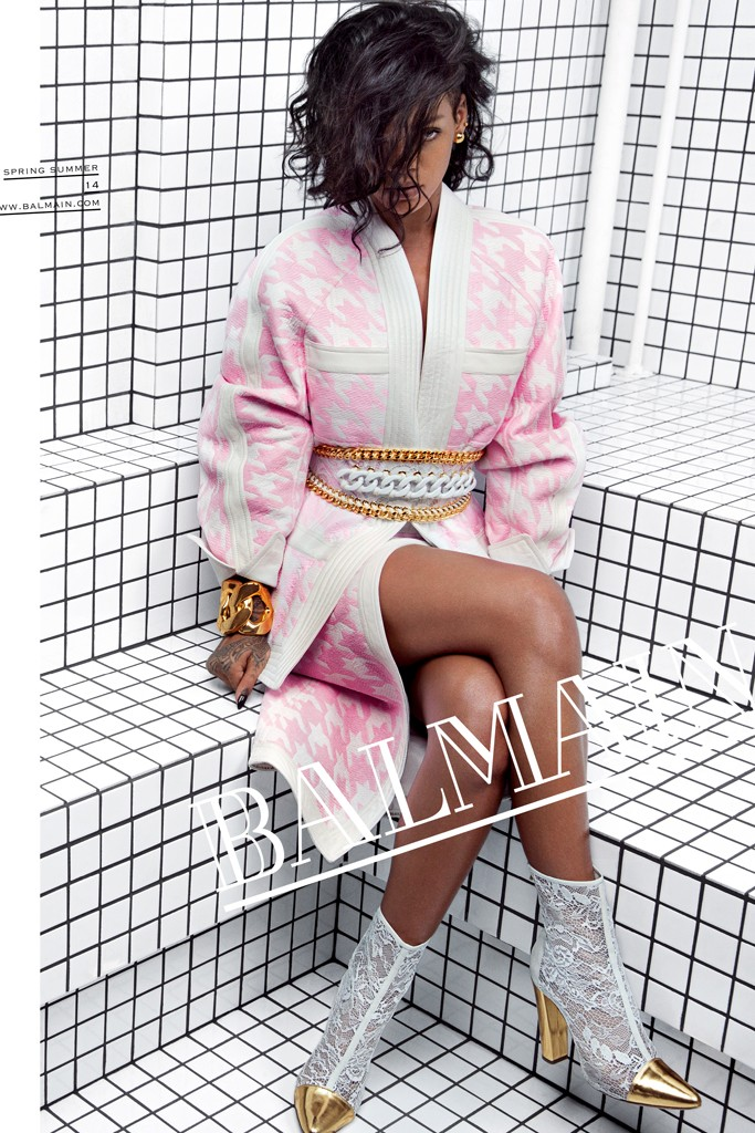 rihanna balmain1 Week in Review | Rihanna Lands New Campaign, VS Swim Preview  + More