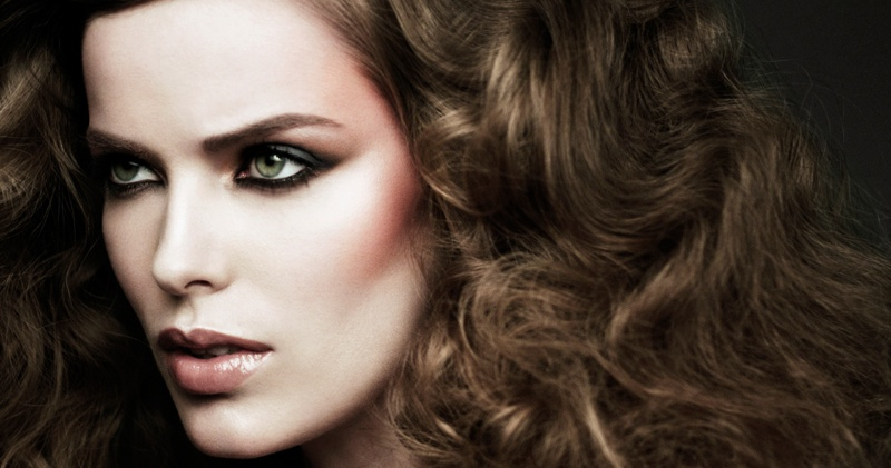 robyn barneys beauty 2 Robyn Lawley Lands First Beauty Campaign for Barneys