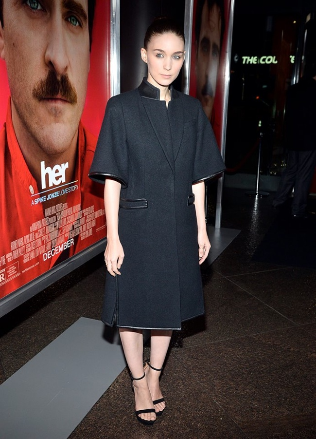 """Rooney Mara Wears Givenchy at """"Her"""" LA Premiere"""