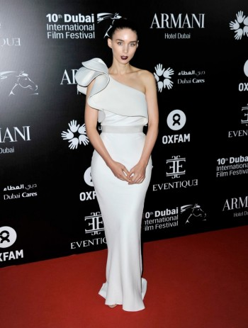 Rooney Mara Wears Lanvin at the 10th Annual Dubai Film Festival
