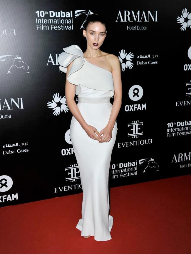 Rooney Mara Wears Lanvin at the 10th Annual Dubai Film Festival