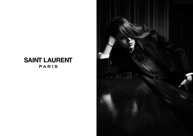 saint laurent spring 2014 campaign3 Natalie + Nastya for Saint Laurent Spring/Summer 2014 Campaign by Hedi Slimane
