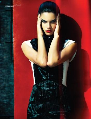 Sara Sampaio Seduces for Flaunt Magazine Spread