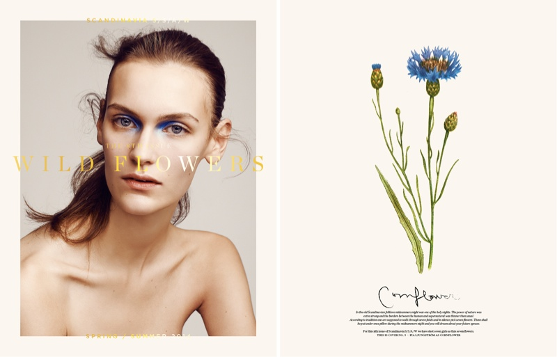 Nadja Bender, Juliane Gruner, Hedvig Palm + More Cover Scandinavia S/S/A/W