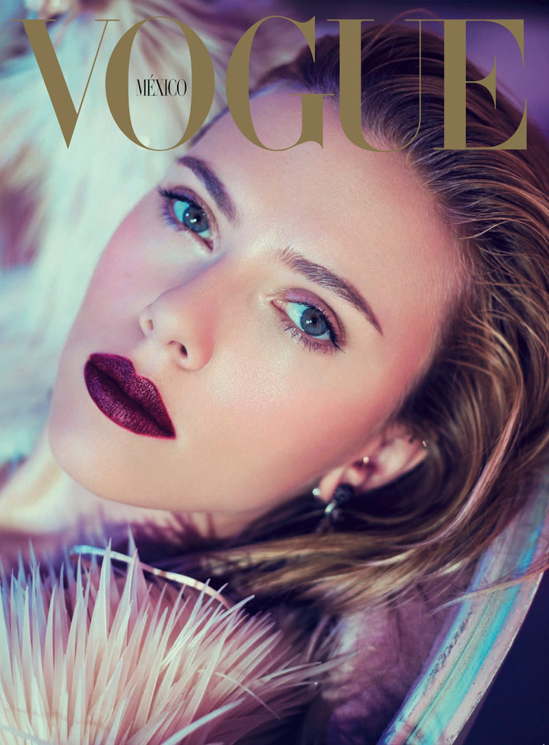 scar jo pictures1 Scarlett Johansson Gets Glam for Sofia & Mauro in Vogue Mexico