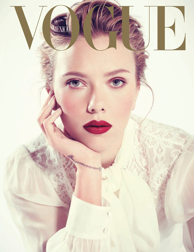 scar jo pictures2 Scarlett Johansson Gets Glam for Sofia & Mauro in Vogue Mexico