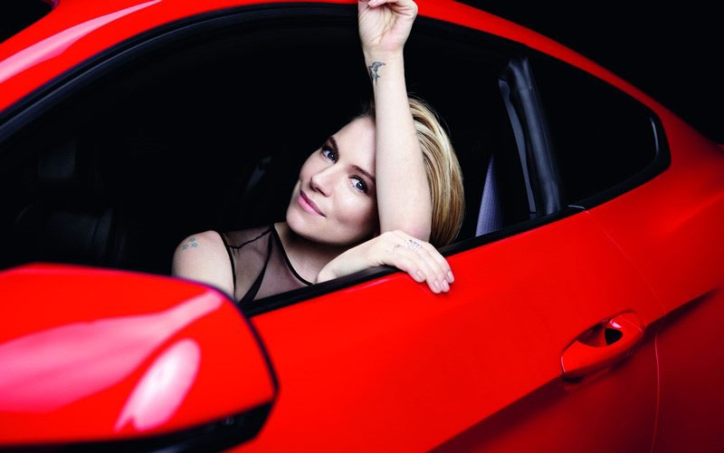 sienna miller ford mustang2 Sienna Miller Fronts Ford Mustang Campaign by Rankin