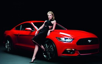 Sienna Miller Fronts Ford Mustang Campaign by Rankin