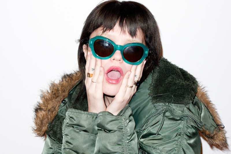 Sky Ferreira Connects with Terry Richardson for New Shoot