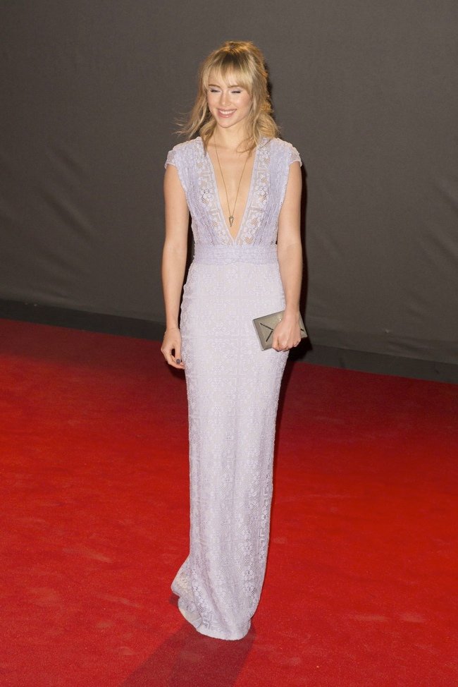 suki waterhouse burberry Daisy Lowe, Rosie Huntington Whiteley + More Stars at the 2013 British Fashion Awards