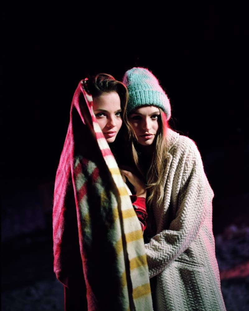 uo winter shoot12 Moa Aberg + Roosmarijn de Kok for Urban Outfitters Holiday 2013