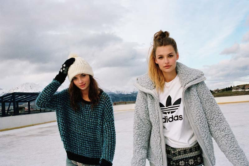 uo winter shoot6 Moa Aberg + Roosmarijn de Kok for Urban Outfitters Holiday 2013