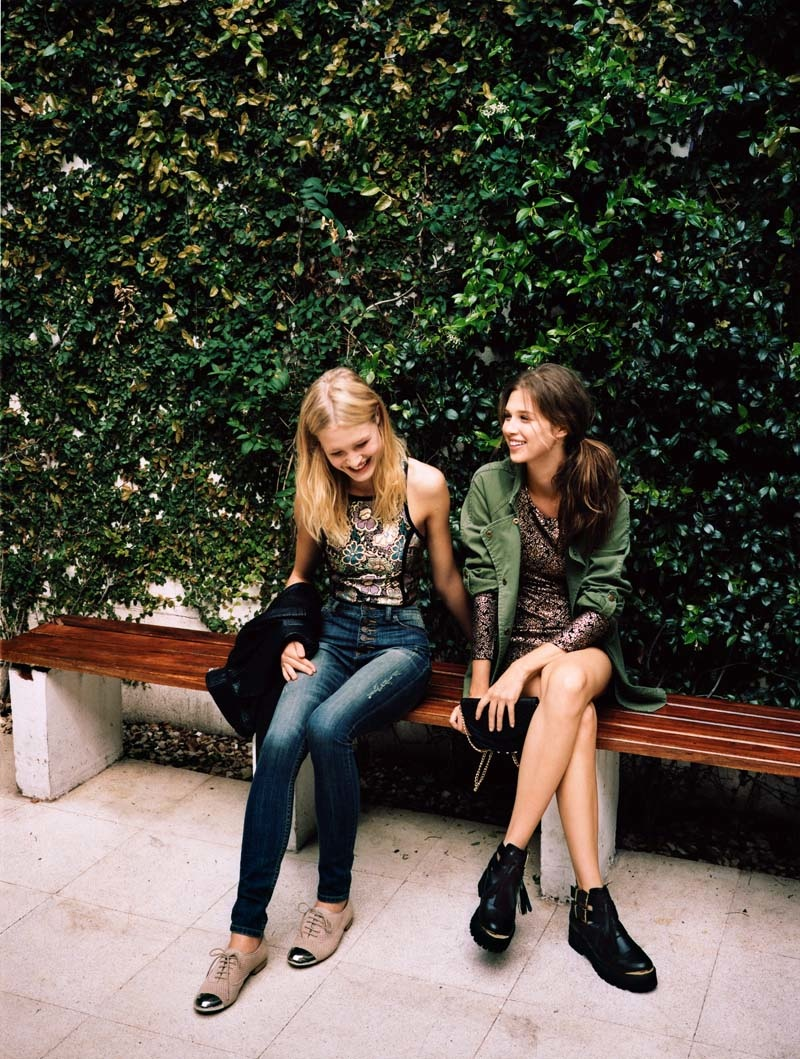 urban outfitters holiday17 Anais Pouliot + Camilla Christensen Front Urban Outfitters Holiday 2013