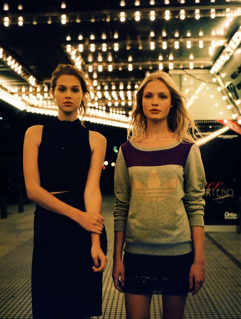 Anais Pouliot + Camilla Christensen Front Urban Outfitters Holiday 2013