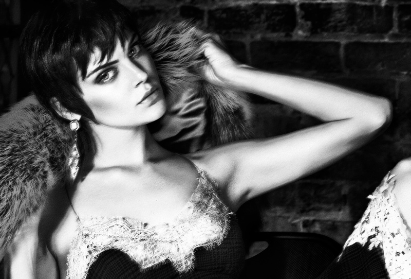 Viktoriya Saskonkina Gets Seductive for Hunter & Gatti in Flaunt