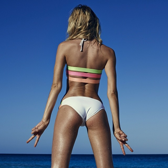 vs swim Candice Swanepoel, Magdalena Frackowiak & Doutzen Kroes BTS at VS Swim 2014 Shoot
