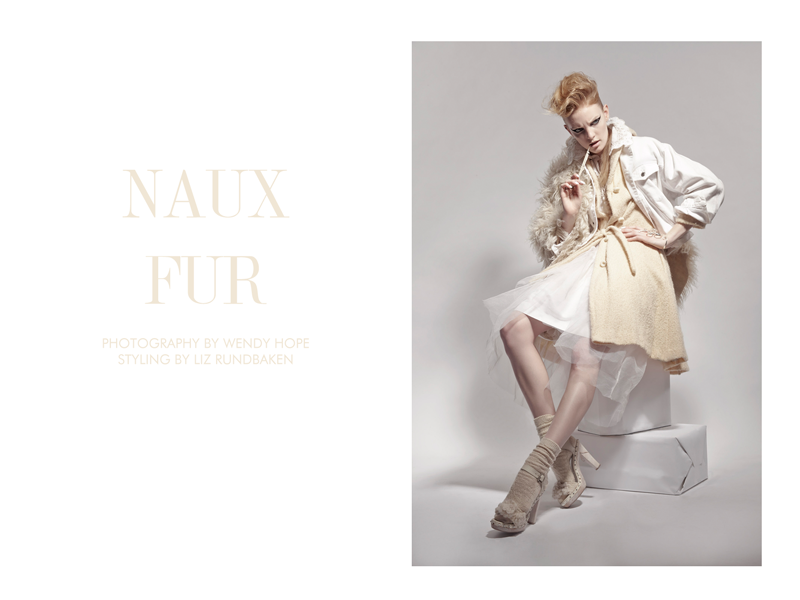 wendy hope fur Clara Settje by Wendy Hope in Naux Fur for Fashion Gone Rogue