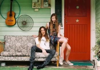 Chloe Worthington Gets Casual in Wrangler Festival Campaign
