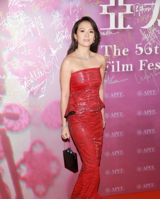 zhang ziyi armani dress 326x406 Patrycja Gardygajlo Stars in 2014 Polish Embassy in Paris Calendar