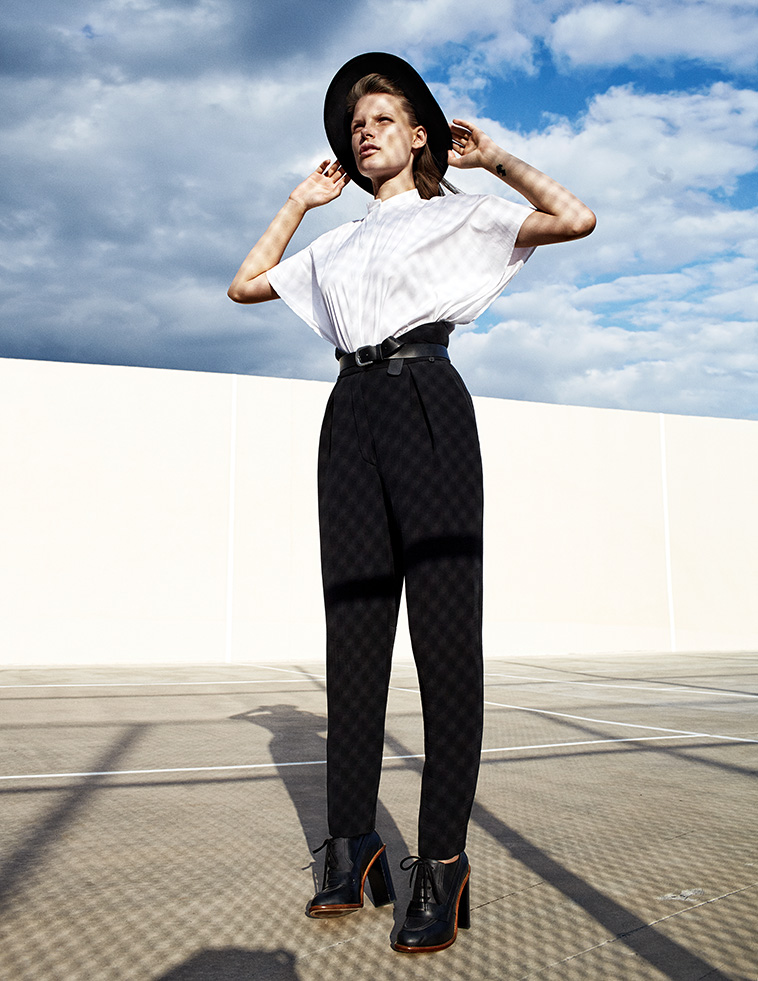 zoltan tombor schon7 Bekah Jenkins Dons Menswear Inspired Style for Zoltan Tombor in Schon