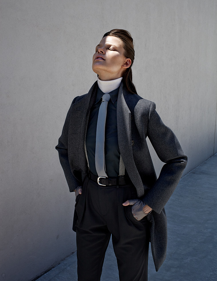 zoltan tombor schon9 Bekah Jenkins Dons Menswear Inspired Style for Zoltan Tombor in Schon