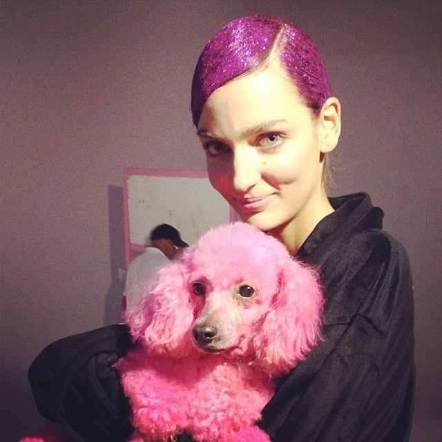 zuzanna pink hair Instagram Photos of the Week | Natasha Poly, Eniko Mihalik + More Model Pics