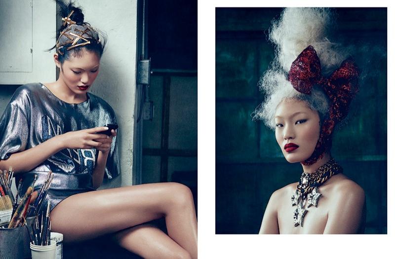 Chiharu Okunugi Enchants in Lanvin for Dansk S/S 2014 Cover Story