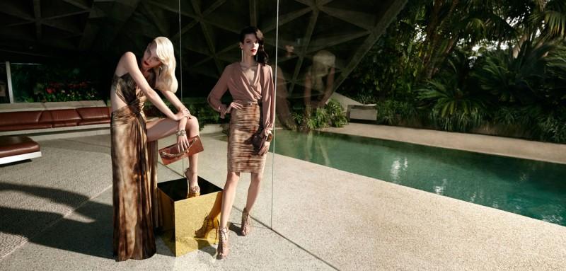 Elisabetta Franchi Spring Campaign 5 Meghan Collison + Aline Weber for Elisabetta Franchi Spring/Summer 2014 Campaign