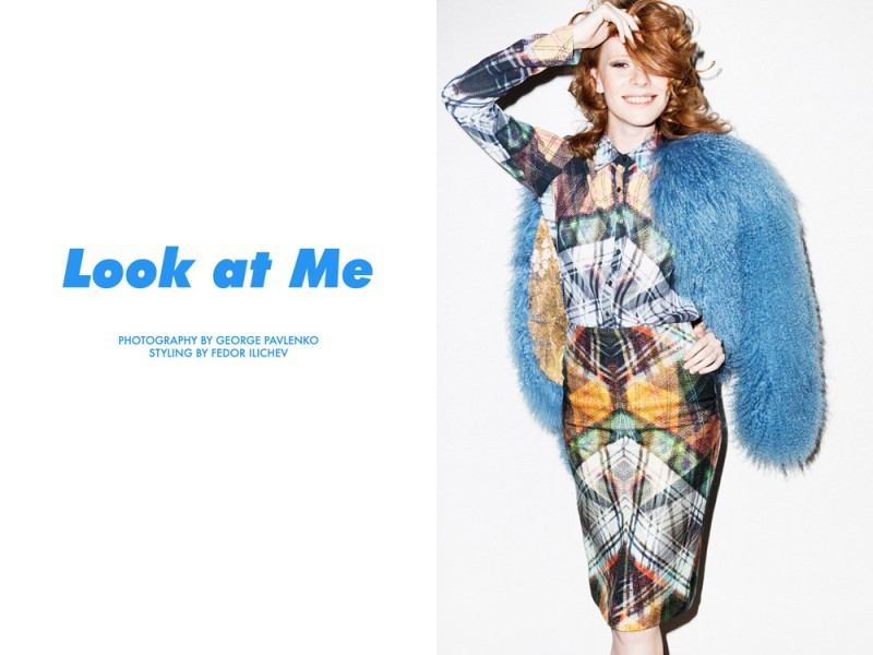 "Kira Pievskaya by George Pavlenko in ""Look at Me"" for Fashion Gone Rogue"