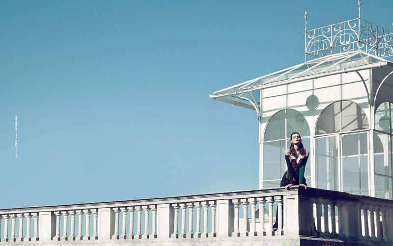 Sibui Nazarenko Stars in Elle Mexico January 2014 by Federica Putelli