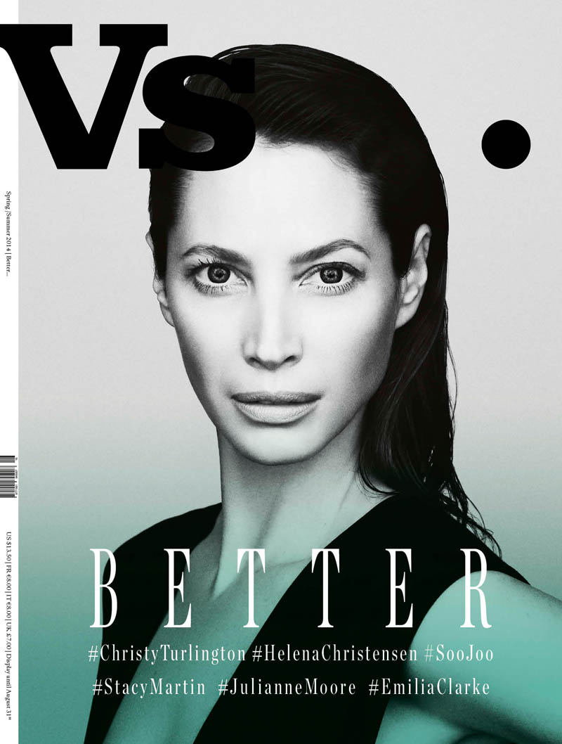 Vs Christy Vs. Magazine S/S 2014 Covers with Christy Turlington, Julianne Moore + More