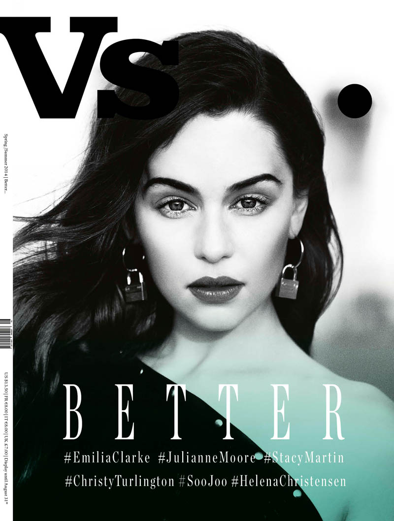 Vs Emilia Vs. Magazine S/S 2014 Covers with Christy Turlington, Julianne Moore + More