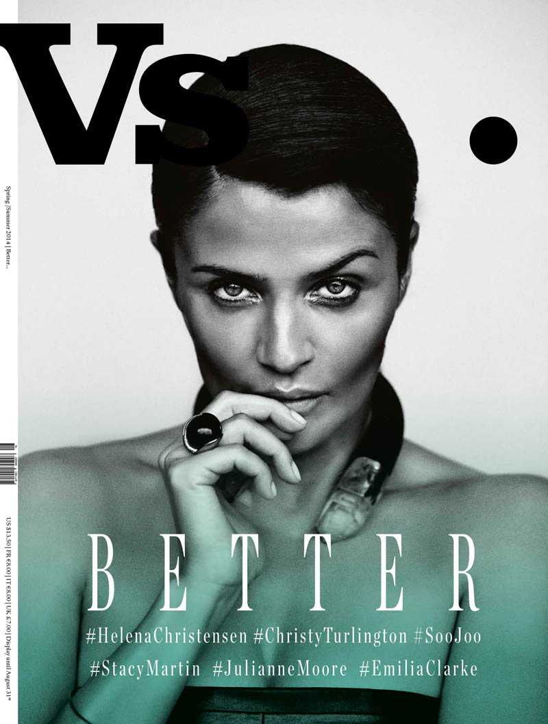 Vs Helena Vs. Magazine S/S 2014 Covers with Christy Turlington, Julianne Moore + More
