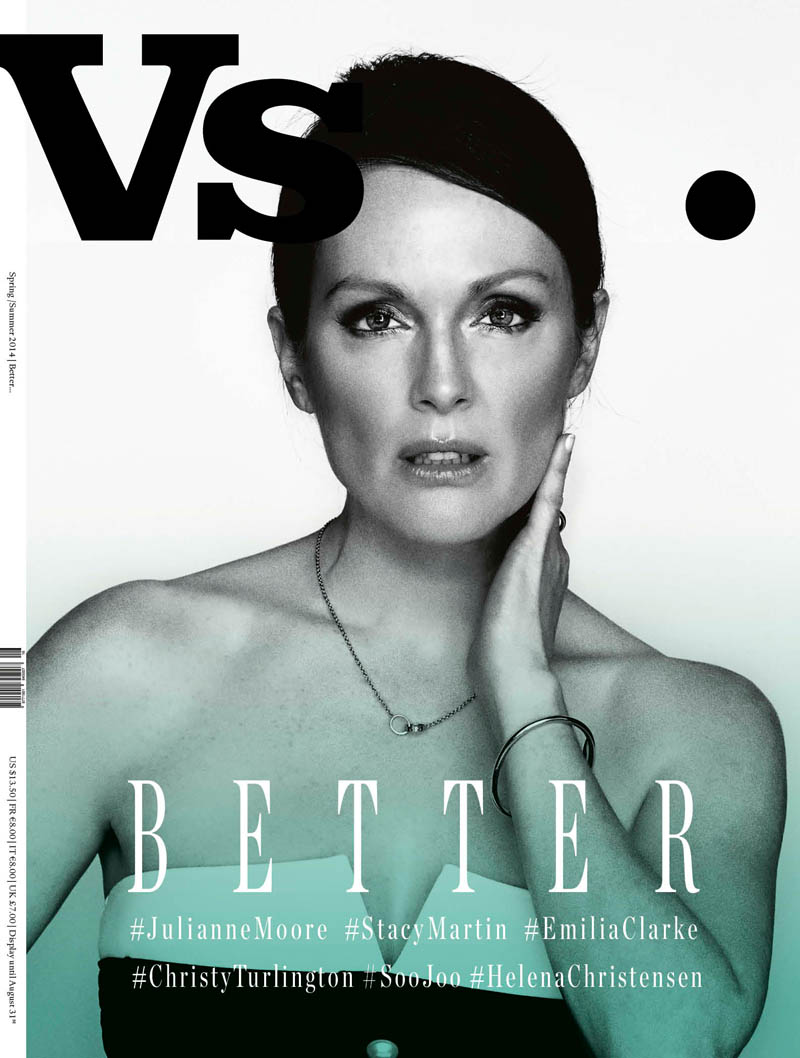 Vs Julianne Vs. Magazine S/S 2014 Covers with Christy Turlington, Julianne Moore + More