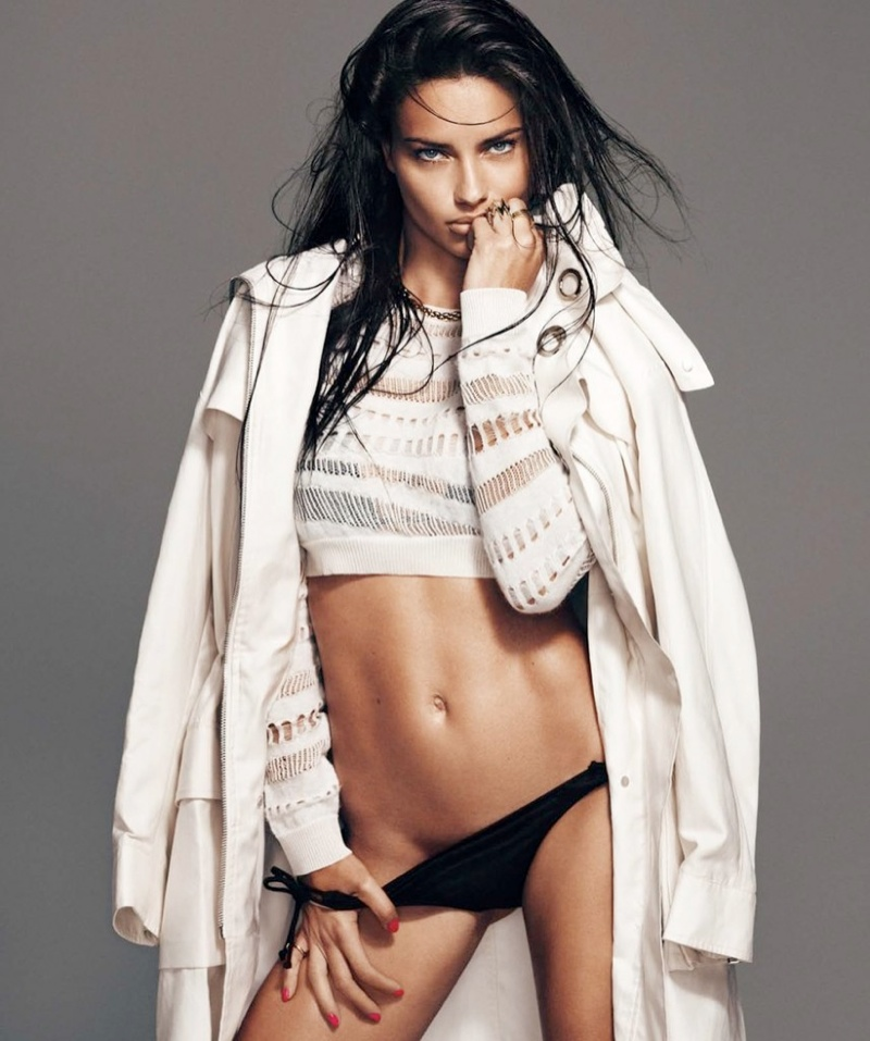 adriana lima photo shoot 10 Adriana Lima Wows for February 2014 Cover Shoot of Harpers Bazaar Spain