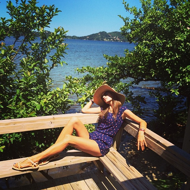 alessandra relaxing Instagram Photos of the Week | Karlie Kloss, Georgia May Jagger + More