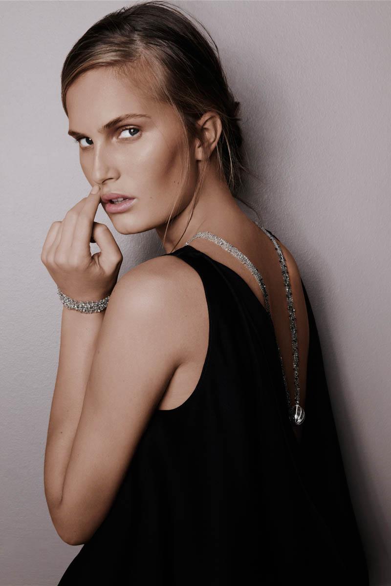 alla saqqara jewelry7 Alla Kostromichova Fronts Saqqara Jewelry Campaign by Kate Martin