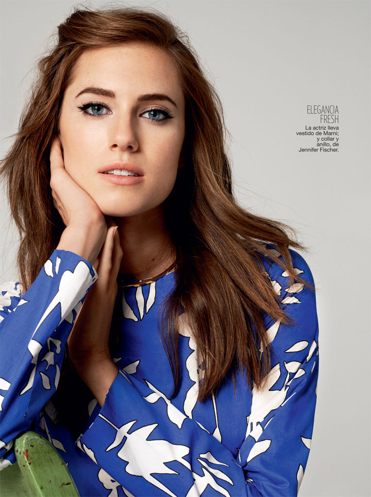 allison williams4 Allison Williams Poses for Blossom Berkofsky in Glamour Spain